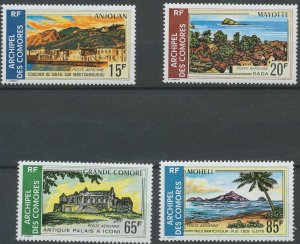 Comoro Islands 1971 #C32-5 MNH. Landscapes