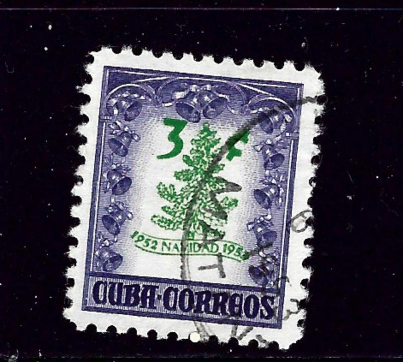 Cuba 499 Used 1952 issue