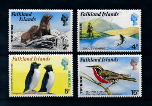 [71943] Falkland Islands 1974 Tourism Seal Birds Penguins Fishing  MNH