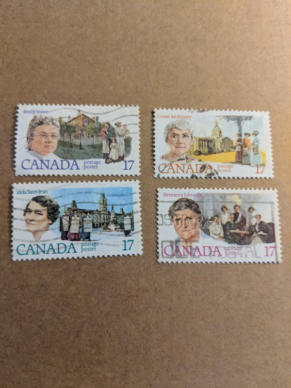 Canada Used Women's Rights Set