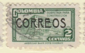 Colombia 1948 2c Fine Used A8P55F69