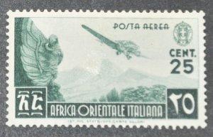 DYNAMITE Stamps: Italian East Africa Scott #C1 – MINT hr