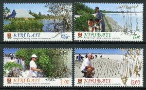 Kiribati 2014 MNH Mangroves 4v Set Nature Trees Stamps