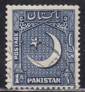 Pakistan 47 Coat of Arms 1950
