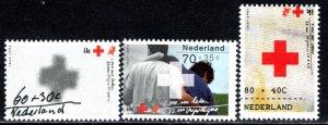 Netherlands Scott # B665 - B667, mint nh