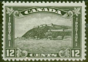 Canada 1930 12c Grey-Black SG300 V.F Very Lightly Mtd Mint