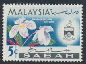 SABAH SG 426  SC# 19 MVLH* Flower  see scans /details