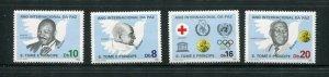 St Thomas & Prince #797-800 MNH