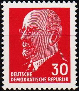 Germany(DDR). 1961 30pf S.G.E582 Unmounted Mint