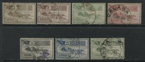 Romania 1903 set to 40 bani CDS used
