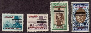 Egypt - 1953 - SC N34-37 - LH - High values