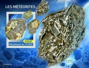 Chad - 2020 Chelyabinsk Meteorites - Stamp Souvenir Sheet - TCH200313b