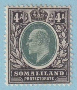 SOMALILAND PROTECTORATE 32  MINT HINGED OG * NO FAULTS EXTRA FINE !