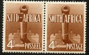 South Africa, Scott #86c, Unused, Hinged pair