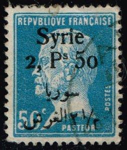 Syria #164 Luis Pasteur; Used (2Stars)