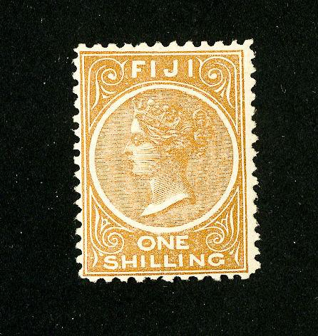 Fiji Stamps # 44 VF OG NH Scott Value $120.00
