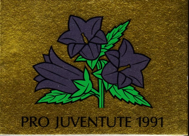 Switzerland 1991 Pro-Juventute Booklet Complete  VF/NH