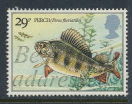 Great Britain SG 1210 - Used - River Fish