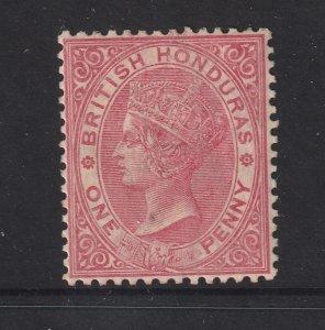 British Honduras an 1882 QV 1d red MH
