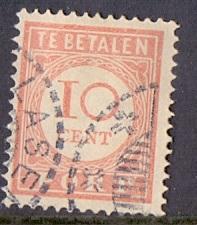 Netherlands Indies   #J30   1913   used postage due 10 c