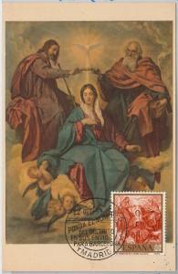48308   MAXIMUM CARD  - ART : VELAZQUEZ - SPAIN 1959