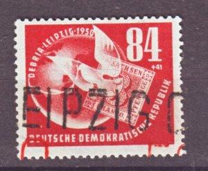 J22296 Jlstamp 1950 germany ddr set of 1 used #b21 stamp