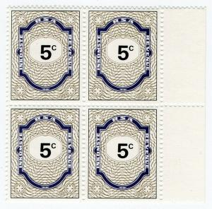 (I.B) South Africa Revenue : Duty Stamp 5c