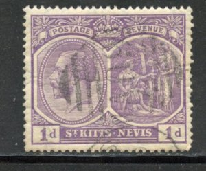 Saint Kitts and Nevis # 39, Used. CV $ 1.10