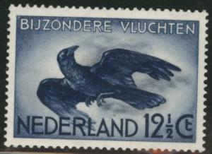 Netherlands Scott C11 1938 MH* crow Airmail stamp