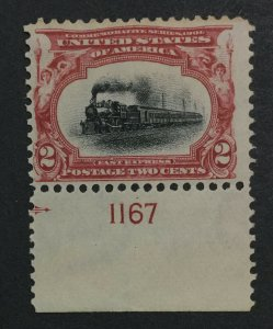 MOMEN: US #295 MINT OG **NH** POST OFFICE FRESH #31127