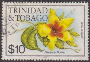 Trinidad & Tobago #407i $10 used