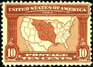 U.S. #327 MINT OG LH