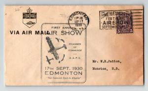 Canada 1930 Edmonton Airshow Cover (II) - Z12868