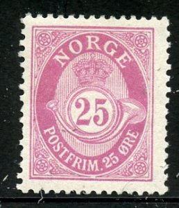 Norway # 87, Mint Hinge Remain  (112)