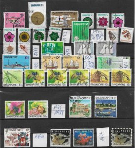 Singapore - used Lot collection