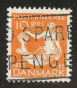DENMARK  Scott 248 Used