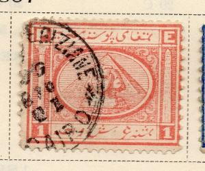 Egypt 1867 Early Issue Fine Used 1p. 324038