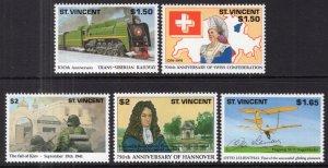 St Vincent 1554-1558 MNH VF