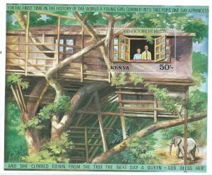 Kenya #88 Silver Jublee Souvenir Sheet ( MNH) CV $4.50