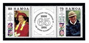Samoa 791a MNH 1991 Royal Birthdays