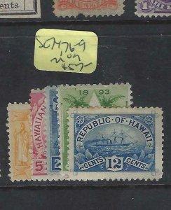 HAWAII  (P0705B)      SC 74, 76-9      MOG