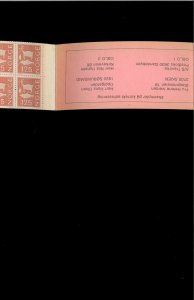 Norway SC# 614 Complete Booklet MNH. Cat.17.50. Better Item