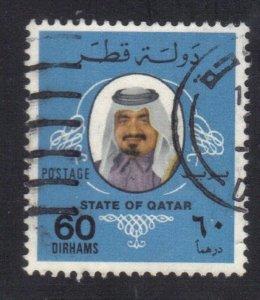 QATAR SC# 549 USED 60d 1979  SHEIK  SEE SCAN