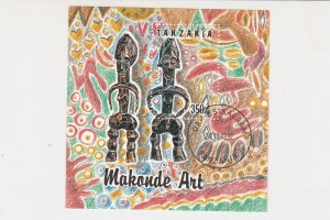 Tanzania Makonde Art 1992 Special Cancel Stamp Sheet ref R 17786