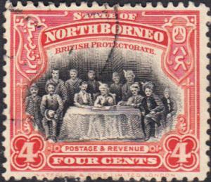 North Borneo #140  Used      CDS