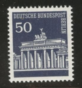 Germany Berlin Occupation Scott 9N254 MNH** from 1966-69 set
