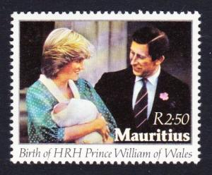 Mauritius Birth of Prince William SG#647 MI#548 SC#552