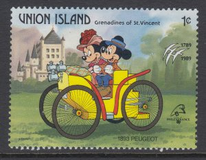 St Vincent Grenadines Union Island 241 Disney's MNH VF