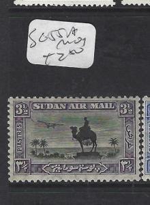 SUDAN  (P1901B)   CAMEL A/M  3 1/2P  SG 55A   MOG
