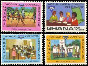 Ghana 426-429, LH, World Council Meeting of YWCA